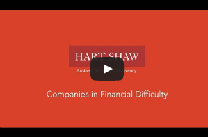 Watch our video about Financial Difficulty.